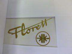 00.61.10 TANK: FLORETT+SYMBOOL KK   KLEUR: GOUD